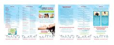 Torbay Mobile Health Beauty And Fitness Tri-Fold A4 Brochure design | Health & Beauty brochure designers | Affordable Trifold Brochures and Presentation Folders For Business