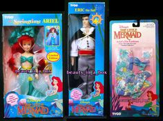 Springtime Ariel Prince Eric Doll Ariels Fin Fashion Little Mermaid Tyco Disney