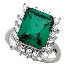 Make Her Friends Envious thisHoliday Seasonby Gifting Her with this Amazing Emerald & Diamond Ring! @houstonjewelry #holidays2012