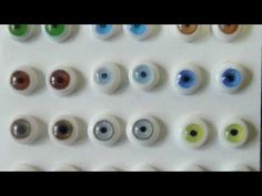 Resin and polymer clay - Dolls eyes Tutorial Fimo Clay, Polymer Clay Projects, Clay Crafts, Doll Making Tutorials, Clay Tutorials, Eye Tutorial, Doll Tutorial, Clay Dolls, Art Dolls