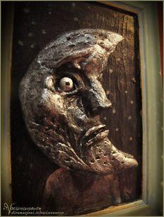 Luna  Moon artwork sculpture by Vocisconnesse on etsy