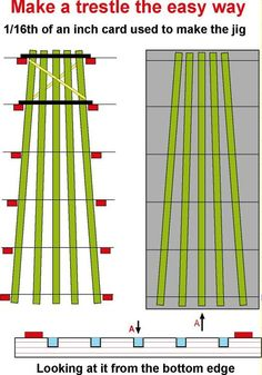 Railroad Line Forums - Trestle bents - every one different - rigs & jigs?