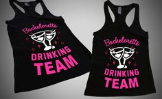 Hey, I found this really awesome Etsy listing at https://www.etsy.com/listing/200254963/bachelorette-drinking-team-juniors