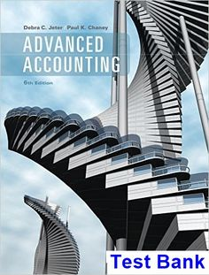 Download solution manual for financial and managerial accounting 6th advanced accounting 6th edition jeter test bank test bank solutions manual exam bank fandeluxe