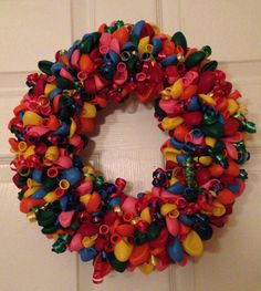 "14"" Balloon Wreath"