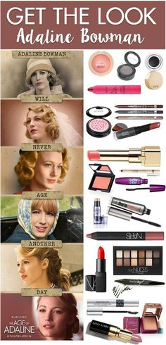Get The Look: The Age of Adaline  - for more beauty, makeup, and nail art tips and ideas go to www.sparkofallure.com