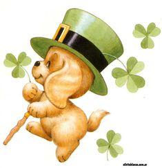 Patrick's mug rugs Saint Patricks Day Art, St Patricks Day Cards, Happy St Patricks Day, Irish Images, Decoupage, Bottle Cap Images, St Paddys Day, Luck Of The Irish, Vintage Greeting Cards