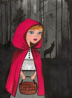 Little Red Riding Hood by tiffany