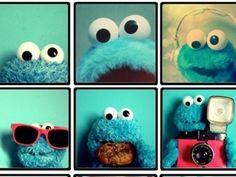 Cookie monster photo op