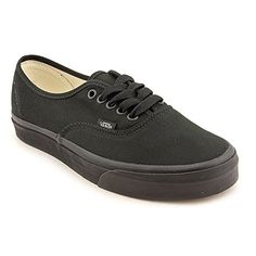 VANS Unisex Authentic BlackBlack Canvas VN000EE3BKA Mens 5 Womens 65      Details can be found by clicking on the image.(This is an Amazon affiliate  link and ... caa3e7958