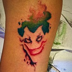 #joker #tattos #smile