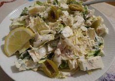 Tonhalas kínai kel - saláta recept foto Potato Salad, Cabbage, Potatoes, Vegetables, Ethnic Recipes, Food, Potato, Essen, Cabbages