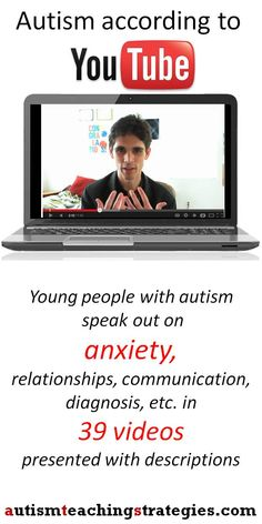 These short videos are quite helpful to show when you are helping kids on the autism spectrum who experience anxiety.