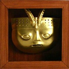The Inca civilization first settled in Peru around A.D. 1200. They settled along the Andes Mountains and regularly held religious celebrations to honor the sun god. It was during these rituals that the Inca people created the first Peruvian masks. Made from gold, these masks were worn for nine nights during the festival of the sun god.