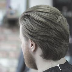 stasibarbers hairstyle for long hair men back view