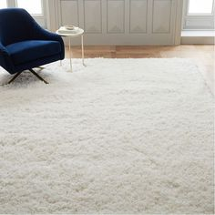 Cozy Plush Rug White is part of Living Room Rug Reading Nooks - The name says it all—our Cozy Plush Rug is extra thick and irresistibly soft underfoot Its highpile design anchors rooms with plush texture and dimension, and even better, it's shed resistant