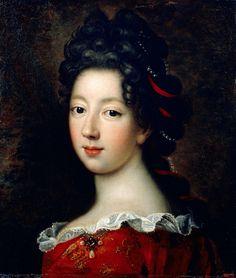 Louise Françoise de Bourbon, mademoiselle de Nantes, François de Troy, 1688