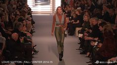 Louis Vuitton - Fall/Winter 2014-15 Collection | From the Runway at Paris Fashion Week | Full show video available at ReelFashion.TV