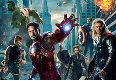 thor landing | The Avengers trailer: Thor vs Iron Man, Hulk rescues Iron Man, and the ...