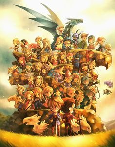 Just some random #FinalFantasy Tactics art. For the sake of spreading hope for a squeal. @SquareEnix #Ps4 #PS1