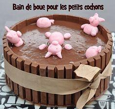 Layer cake : le bain de boue des petits cochons