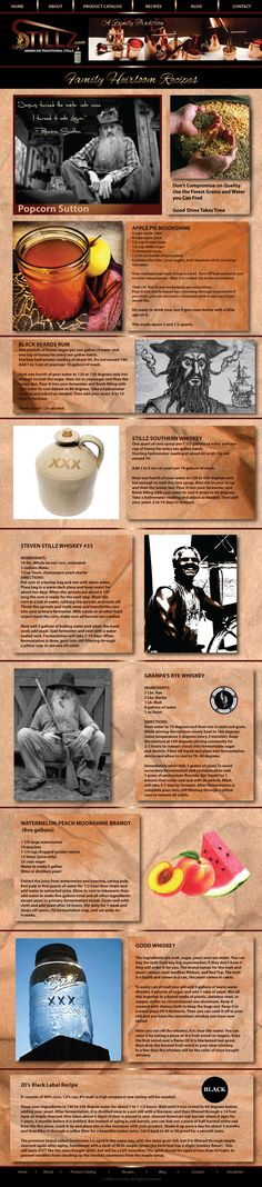 Nice collection of Traditional Moonshine Whiskey Recipes from the Maker of the Best Moonshine Shine Stills on Earth