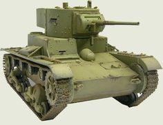 Soviet light tank Т-26 1926 (Vickers Mk E)