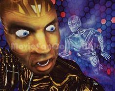 "The Lawnmower Man 8x10 Animation Photo ""CyberJobe"""