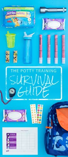 Potty training? You're in for an unforgettable journey. Prepare yourself with this helpful survival guide.