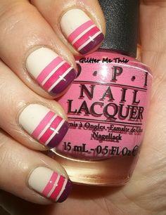 Stripe nails