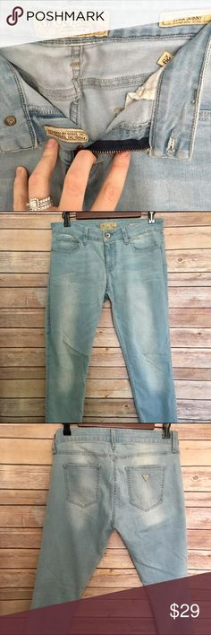 Guess Power Skinny Jeans Used in Excellent Condition/ Pet & Smoke Free Home/ Offers Welcome/ Please ask Questions Guess Jeans Skinny