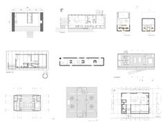 House Plans Under 100 Square Meters: 30 Useful Examples D House, Shop House Plans, Shop Plans, The Plan, How To Plan, Urban Cottage, Casa Patio, 100 M2, Square Meter