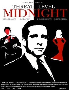 The Office: Threat Level Midnight Movie Poster