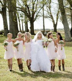 Country bridesmaids dresses