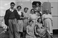 Boswell family photograph taken Epsom Downs