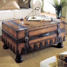 Hammary T73256 00 Hidden Treasures Trunk | ATYPICAL TABLES | Pinterest |  Lights