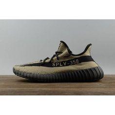 Adidas Yeezy Boost - Basket Adidas Yeezy Boost 350 V2 Vert Noir Vendre bbd5c78cb8a