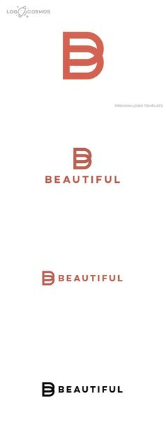 Beautiful - Letter B Logo. Logo Templates. $35.00