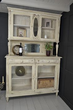 This original French oak dresser could be used in a kitchen or living room…