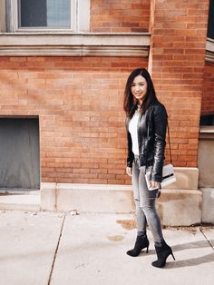 Chic in leather