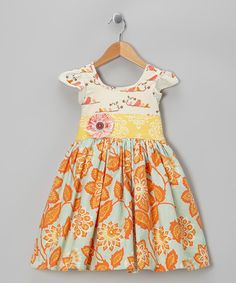 Moxie & Mabel Meadow Flutter Dress - Infant, Toddler & Girls