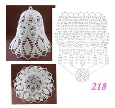 Crochet Gifts - Crochet How to crochet doily Part 1 Crochet doily rug tutorial Crochet Christmas Ornaments, Christmas Crochet Patterns, Crochet Snowflakes, Crochet Flower Patterns, Christmas Bells, Crochet Flowers, Christmas Crafts, Thread Crochet, Crochet Doilies