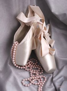 pink pearls & ballet slippers!