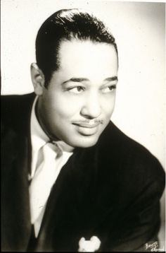 Duke Ellington, a native of Washington, D.C., in the 1930s.