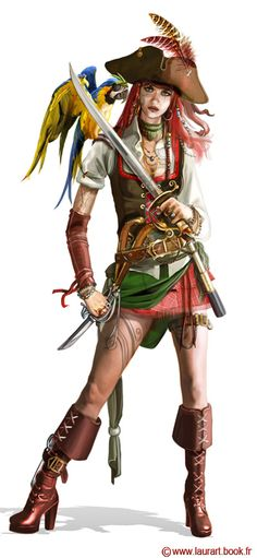 Pirate by laura-csajagi.deviantart.com on @deviantART
