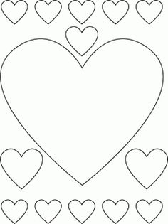 Printable Valentine coloring crafts and pictures to color with hearts, flowers and love themes for Valentine's Day, Mother's Day or weddings.  These...