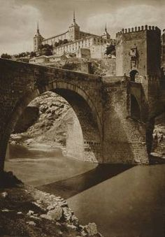 Puente de Alcántar, Toledo, 1915