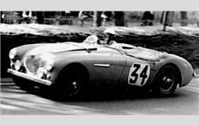 1953. 12th place finisher - Austin-Healey 100 (#34).