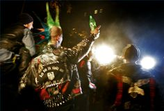 Punk Rock Leather Jacket