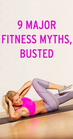 The most popular fitness sayings that are totally false — and what you should know instead. Re-pin now, check later.